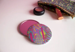 Bubblegum Pink Pocket Mirror