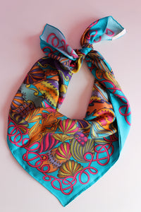 colourful luxury silk scarves