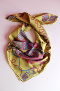 'When Daylight Drops' Silk Scarf