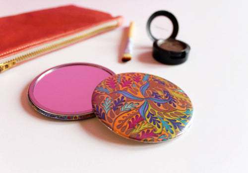Amazonian Storm Pocket Mirror