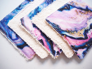 washable makeup wipes set