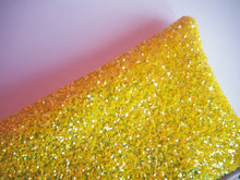 bright yellow glitter case