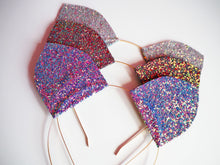 glitter cat ears for festival