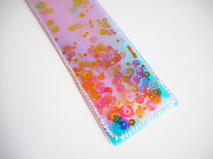 Holographic Vinyl Sequin Bookmark