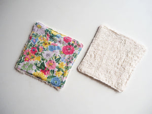 Liberty Floral Print Washable Wipes Set