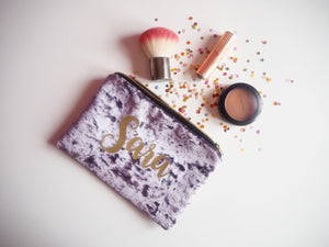 personalised toiletry bags