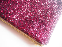 sparkly pink purse