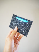 Black Glitter Card Holder