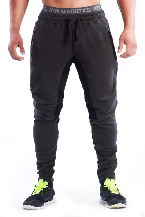 grey gym aesthetics joggers pants joggers gym clothes bodybuilder fitness bodybuilding streetwear cyprus fitness clothing sportswear γκρίζα φόρμα γυμναστηρίου αθλητικά ρούχα Κύπρος παντελόνι