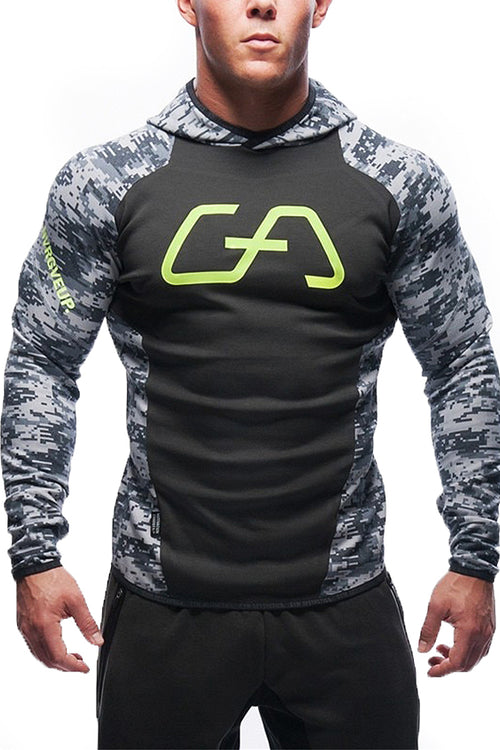 grey hoodie footer gym clothes bodybuilding bodybuilder fitness streetwear cyprus fitness clothing gym aesthetics sportswear φόρμα γυμναστηρίου αθλητικά ρούχα Κύπρος αντρικό αθλητικό φούτερ