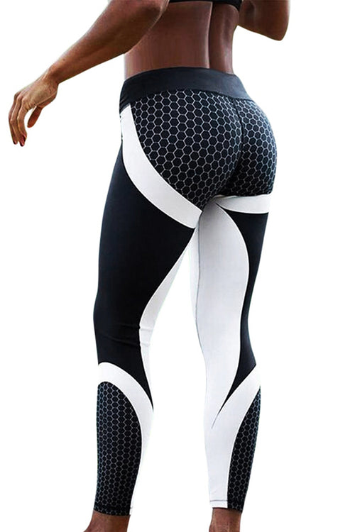 black white symmetric leggings Cyprus sportswear gymclothes μαύρο άσπρο κολάν gym clothes cyprus sports αθλητικά ρούχα Κύπρος