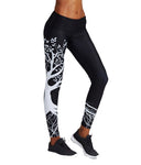 tree of life black leggings work-out fitness spandex polyester κολάν gym clothes cyprus sports sportswear αθλητικά ρούχα κύπρος γυμναστήριο μαύρο