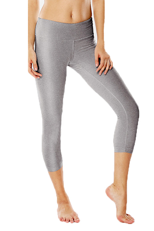 grey leggings push up work-out fitness spandex polyester κολάν gym clothes cyprus sports sportswear αθλητικά ρούχα κύπρος γυμναστήριο γκρι capri