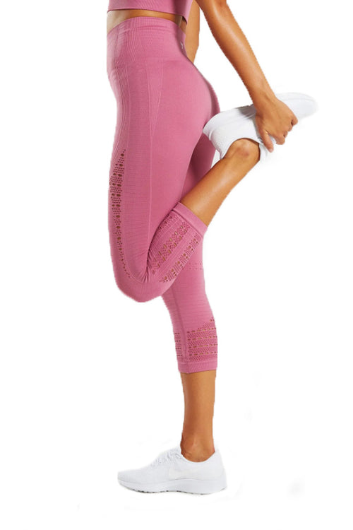 energy+ seamless cropped capri pink gymshark leggings Cyprus fitness αθλητικό γυναικείο κολάν gym clothes gymwear sports αθλητικά ρούχα Κύπρος