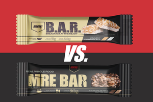 MRE Bar vs. B.A.R.: What's the Difference?