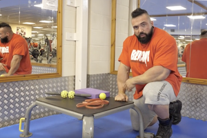 Mobility Exercises & Massage Therapy with IFBB Pro Luke Sandoe