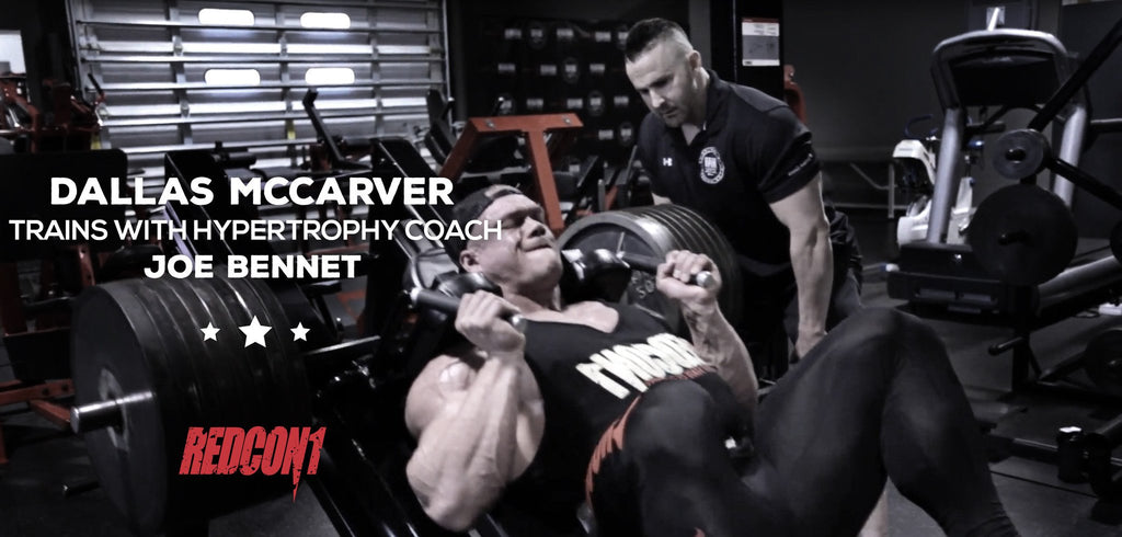Dallas McCarver Trains With Hypertrophy Coach