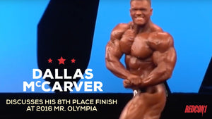 Dallas Discusses 8th Place Finish at Mr. Olympia