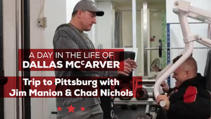 Day In The Life - Dallas McCarver's Trip To Pittsburgh w/Jim Manion & Chad Nicholls
