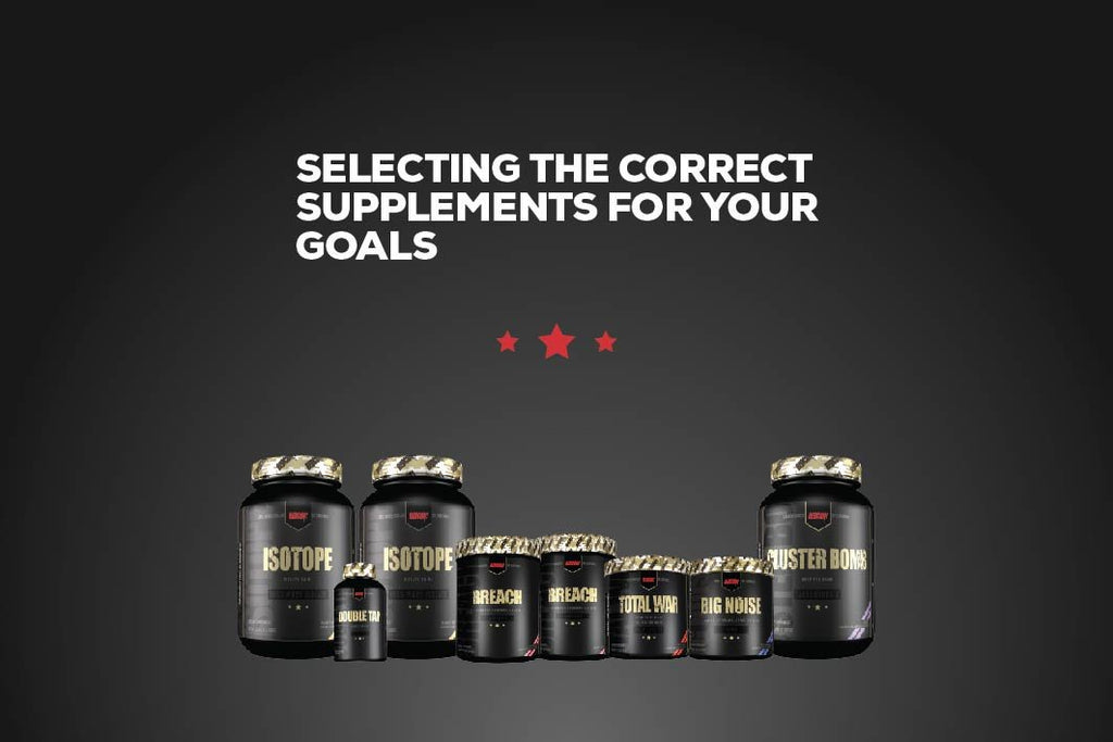 Selecting the Correct Supplements for your Goals