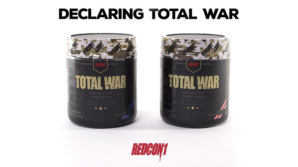 Introducing Redcon1's PreWork Out Total War