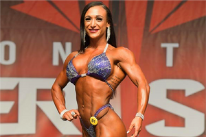 IFBB Fitness Pro Darrian Borello is Olympia Bound!