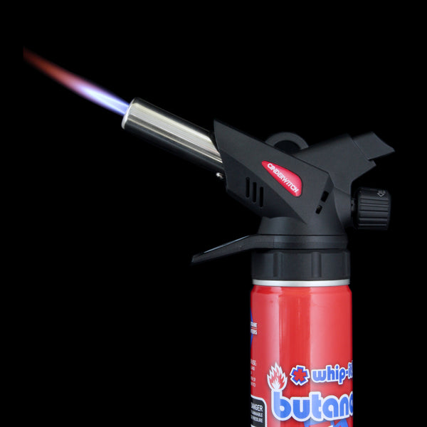 Standard Fit - Fits almost all standard cans of Butane.  Extremely adaptable and economical.  Don't waste space or time with other torches ever again.  Just get a new can of butane.