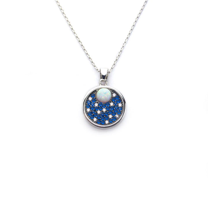 collier vise la lune de XVI EMPIRE