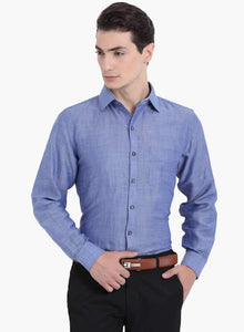 Richlook Blue Club Wear Shirt