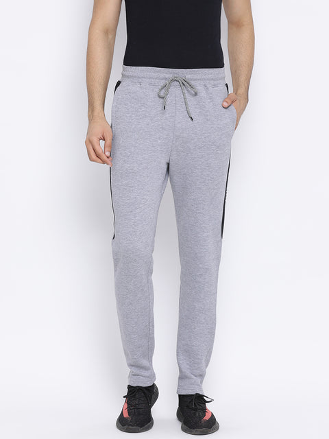 Grey Melange Regular Fit Lower
