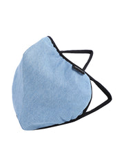 Richlook Ice Blue Oval Shape Denim Mask