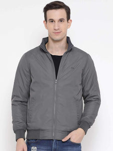 Richlook Green Casual Regular Fit Jacket