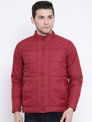 Maroon Casual Jacket
