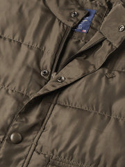 Olive Casual Jacket close view