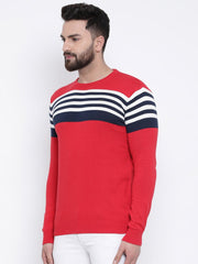 Red Round Neck Sweater