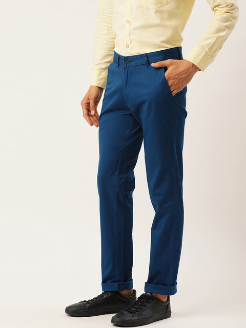 RBlue Casual Slim Fit Trouser
