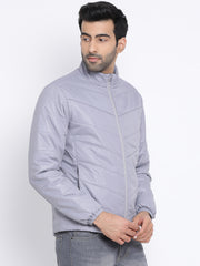 Regular Fit Lt. Grey Jacket