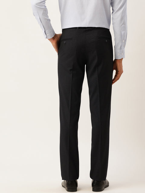 Charcoal Formal Smart Fit Trouser