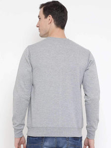 Richlook Melange Regular Fit Casual SweatShirt