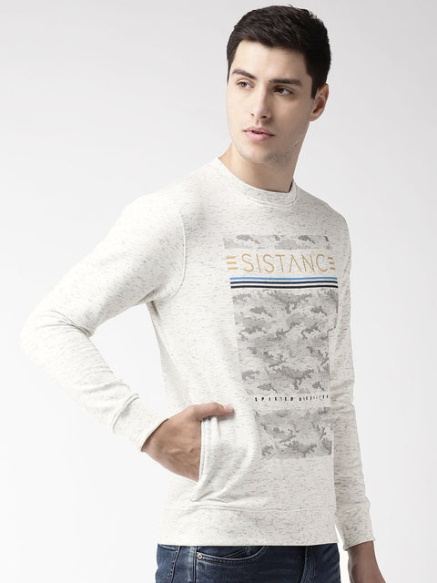 Sky Solid Sweatshirt side view
