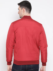 Red Jacket back view