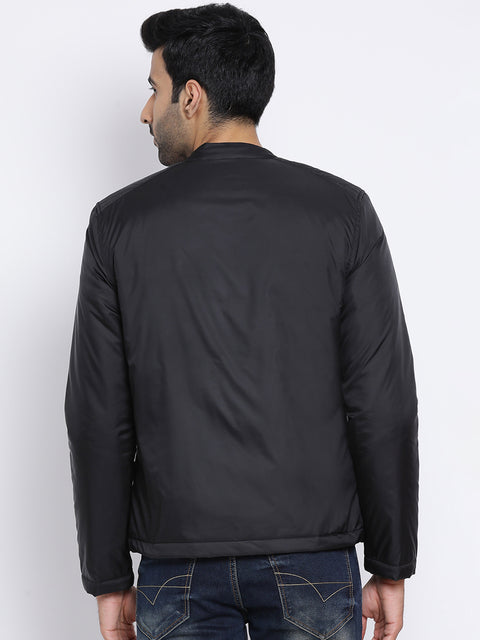 Regular Fit Black Jacket