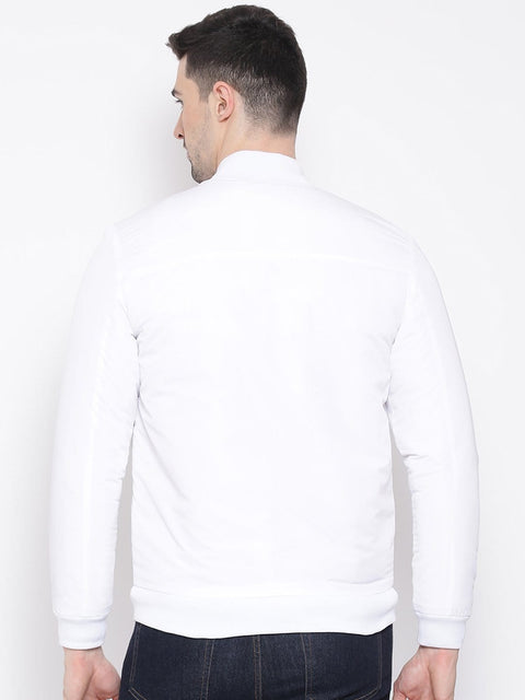 White Jacket back view