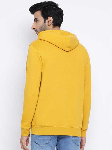 Round Neck Cyber Yellow Sweatshirt