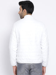 Regular Fit White Jacket