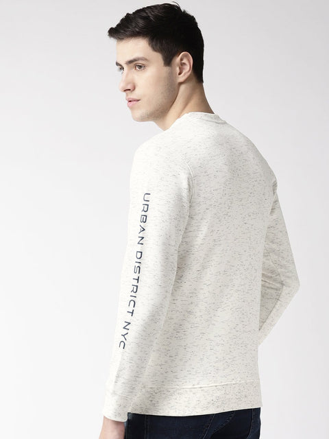 Sky Solid Sweatshirt back view