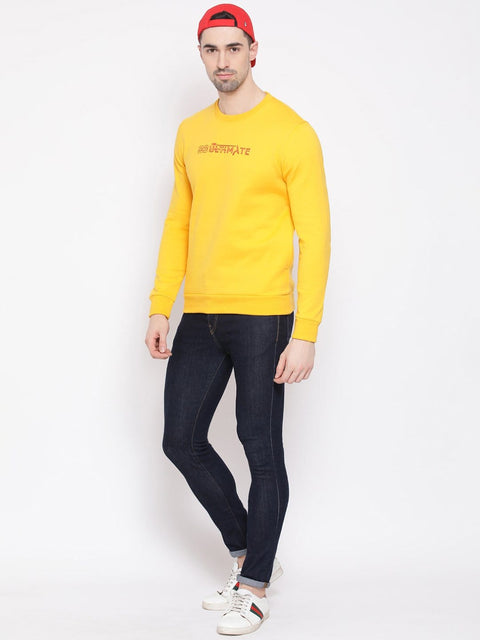 Mustard Sweatshirt for men