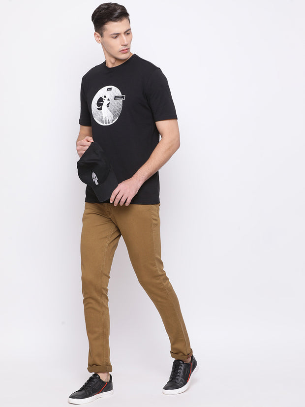 Camel Casual Classic Fit Jeans