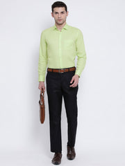 Green Formal Shirt for men