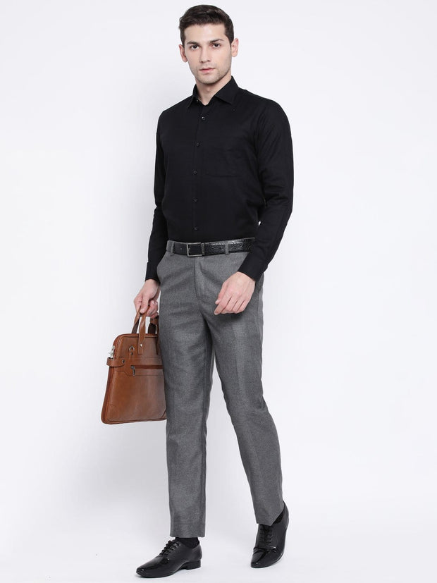 Black Formal Shirt for men